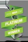 Logo: Platinum MarCom Award